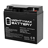 ML18-12 12V 18 AH SLA Battery - Mighty Max Battery...