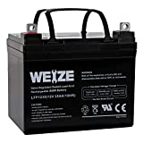Weize 12V 35AH Battery Rechargeable SLA Deep Cycle...