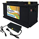 FLYPOWER 12V 100Ah Lifepo4 lithium batteries Up to...