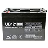 12V 100Ah AGM Sealed Lead Acid Battery UB121000...