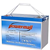 Powermall 12V 100AH Sealed Rechargeable Deep Cycle...