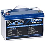 Weize LiFePO4 Battery Lithium Iron Phosphate 100ah...