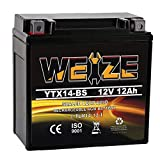 Weize YTX14 BS ATV Battery High Performance -...