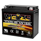 Weize YTX20L-BS High Performance Power Sports-...