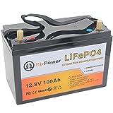 12V 100AH Deep Cycle LiFePO4 Battery - Lithium...