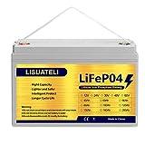 LISUATELI 12V 100Ah Lifepo4 lithium batteries Up...