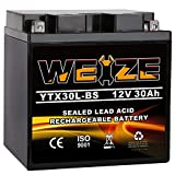 Weize YTX30L-BS Battery Replacement Yuasa YIX30L...