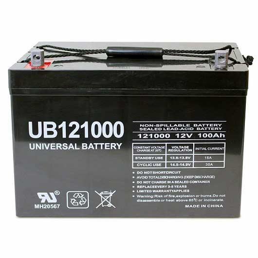 UB121000 Battery Review -Universal 12v 100AH Deep Cycle AGM Battery