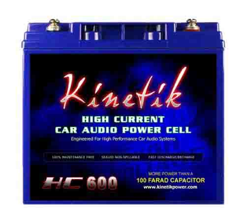 AGM Car Audio Power Cell Battery Kinetik HC600 review 2019