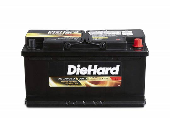 Diehard advanced gold AGM battery review