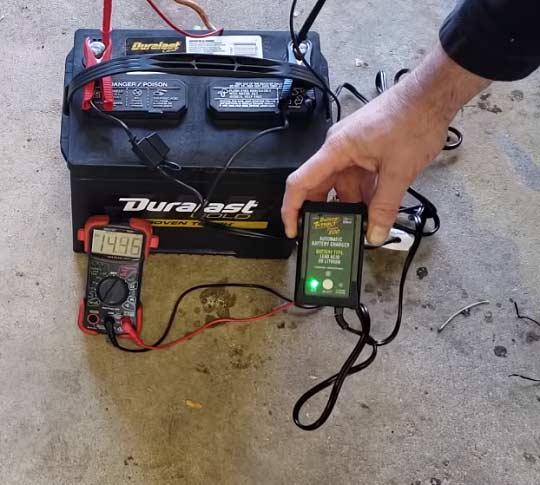 How to Charge RV Batteries Properly