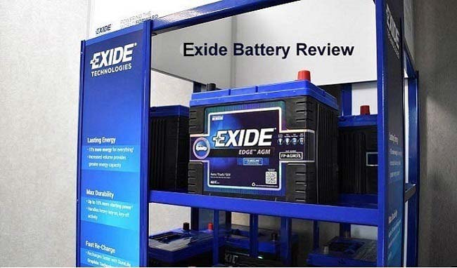 Exide battery review