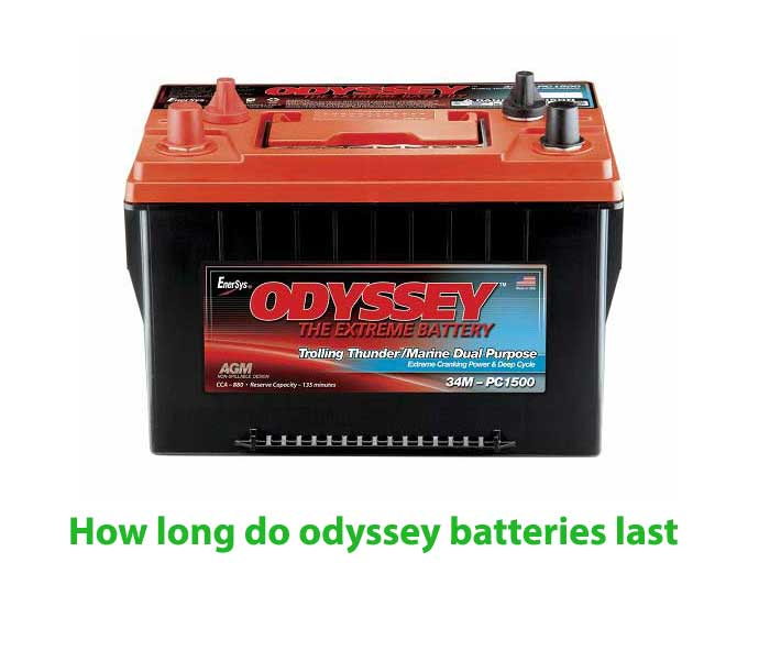 How long do odyssey batteries last