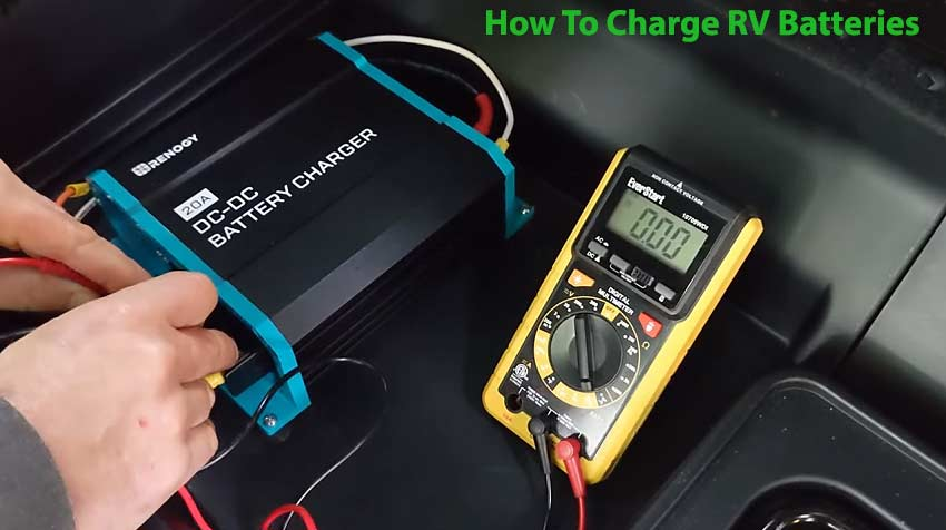 How to charge RV batteries